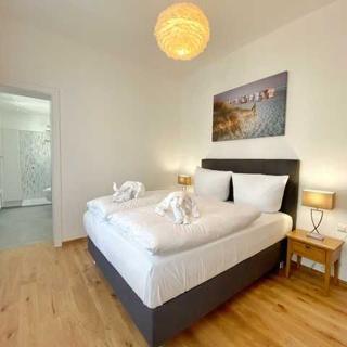 Sassnitz - Villa Jenny - RZV - Wohnung 2, 3 Zimmer, Loggia, Balkon, EG - Sassnitz