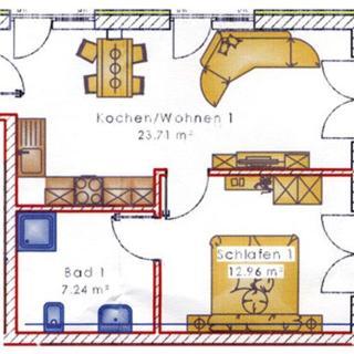 Caseti 5***** Ferienwohnungen - Rothenburg u. Bad Windsheim - 5***** Ferienwohnung Tim EG Terrasse zum Pool   2 + 1 Pers. - Oberdachstetten