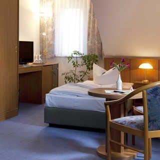 Hotel Gartenstadt - Einzelzimmer - Erfurt