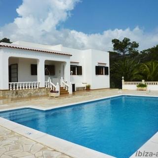 Haus mit Pool und herrlichem Meerblick in Pou des Leo 208 - Ferienhaus - Sant Carles de Peralta
