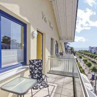 Villa Wauzi - VWA09 - moderne Ferienwohnung mit Meerblick, Balkon - Baabe