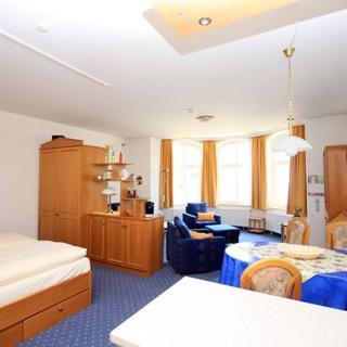 Villa Glückspilz - 1-Raum-Appartment mit Seeblick - Binz