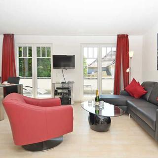 Villa Rosa -F595 | WG 18 im 3.OG mit Kamin und 2 Terrassen - Villa Rosa WG 18 - Sellin