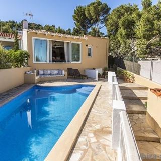Ferienhaus mit Pool und Meerblick 229 - Ferienhaus - Cala Vadella