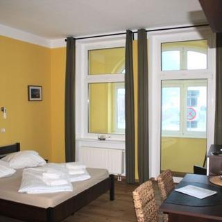 Gästehaus am Hafen - Doppelzimmer - Stralsund