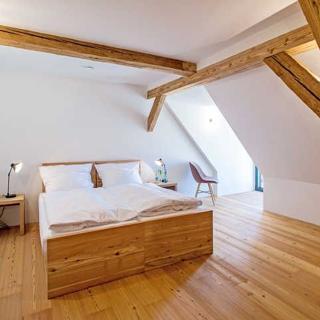 Kultur Gut Hasselburg - Gästezimmer Twin Betten - Ives - Altenkrempe