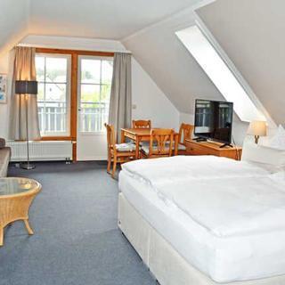 Hotel Insel Glück am Nationalpark Jasmund - Studio mit Balkon - Hagen