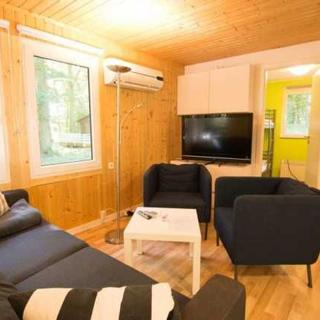 Ferienhaus 2 - Waldbungalow mit 2 Schlafzimmern - Dranske