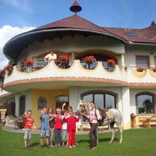Biolandhaus Arche - Panoramablick - Eberstein