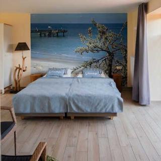 Familien- Ferienhof*** Ostseeland Rerik - FZ 8-11/ Ferienzimmer ohne Küche (24m²; 2 Pers.) Terrasse - Rerik