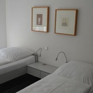 Dünenblick Apartments - Appartement 1.OG, Balkon Seeseite - Helgoland