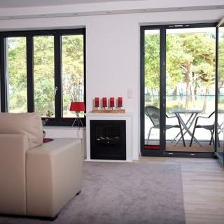 """Strandresidenz-Appartement """"Zwergmöwe"""" A09 in Prora - Appartement """"A09"""" 43 m² bis 2 Erw. + 1 Kleinkind (bis 3 J.) - Prora"""
