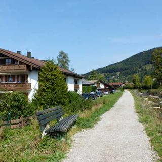 ,Fewo B im Appartementhaus an der Rottach - 2-Raum Ferienwohnung in bester Lage - Rottach-Egern