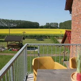 Familien- Ferienhof*** Ostseeland Rerik - FW 5 / 3-Raum-FeWo Kamin Balkon (67m²; max 5 Pers.) - Rerik