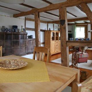 Historisches Odenwälder Haus mit Haus Elztalblick - Ferienwohnung A - Mudau