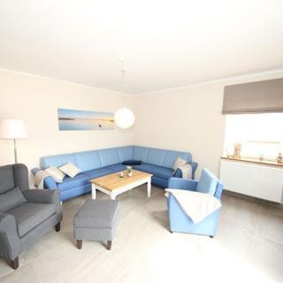 P: Zollhaus Klein Zicker - exklusive Wohnungen mit Meerblick - Ferienwohnung 01 mit Südterrasse und Meerblick - Klein Zicker