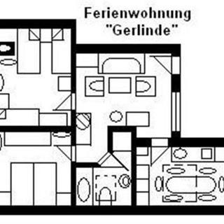 """Haus U, für 1-15 Personen, 25km bis FFM-Nord - """"U3= Gerlinde"""", für 5-6 Personen - Usingen"""