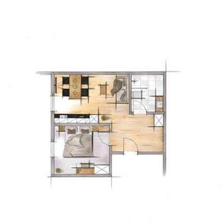 Apart Ferienwohnung Luneta - Luneta 3 - 1 Schlafzimmer - Ladis