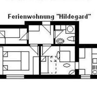 """Haus U, für 1-15 Personen, 25km bis FFM-Nord - """"U2= Hildegard"""" für 3-6 Personen - Usingen"""