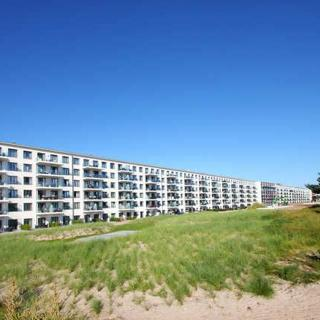 Apartement Prora Solitaire - APS08: direkt am Strand, Terrasse, Schwimmbad, Sauna, WLan - Prora