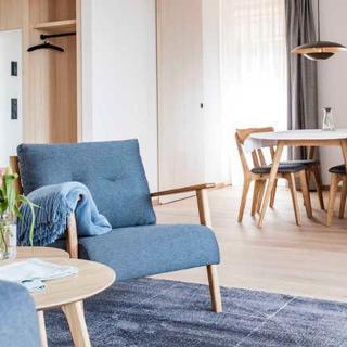 Aparthotel Trinkl - 2-Zimmer-Fewo mit privater Sauna West im 2. Stock - Bad Wiessee