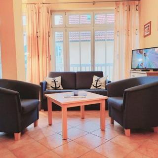 """Appartmenthaus """"Dünenschloss"""" - (175) 2- Raum- Appartement-Ostseeallee - Kühlungsborn"""